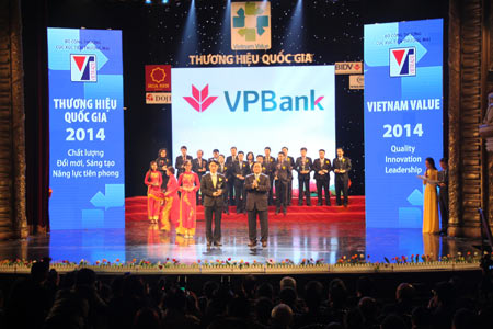 VPBANK To Win THE 2ND CONSECUTIVE VIETNAM VALUE AWARD