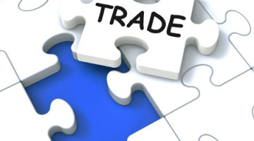 trade puzzle shows market