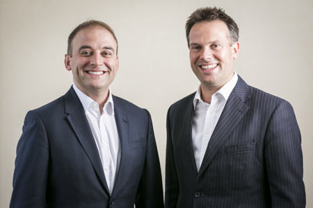 VentureFounders co-founders James Codling and Paul Moravek