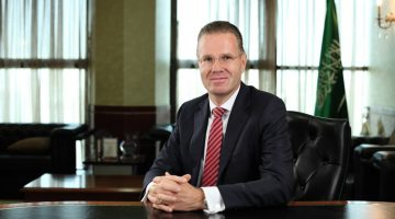 DR. BERND VAN LINDER, CEO, SAUDI HOLLANDI BANK