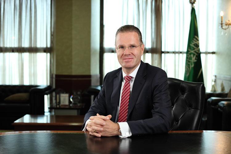 DR. BERND VAN LINDER, CEO, SAUDI HOLLANDI BANK