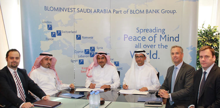BLOMINVEST SAUDI ARABIA AND SINOGULF Signed An Agreement To Develop AL SHARQ INDUSTRIAL BUSINESS HUB In RIYADH.