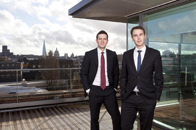 Matthew Powell & Nicholas Harding (L-R), Lending Works 5