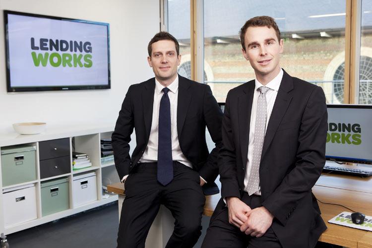 Matthew Powell & Nicholas Harding (L-R), Lending Works
