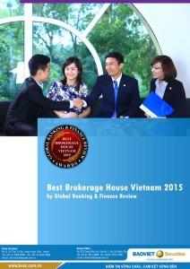 "BVSC Received ""BEST BROKERAGE HOUSE VIETAM 2015"" AWARD By GLOBAL BANKING & FINANCE REVIEW"