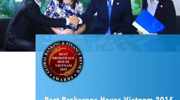 "BVSC Received ""BEST BROKERAGE HOUSE VIETAM 2015"" AWARD By GLOBAL BANKING & FINANCE REVIEW"