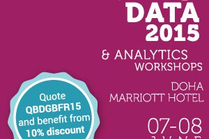 TOP GLOBAL EXPERTS TO LECTURE AT QATAR BIG DATA WORKSHOPS ON JUNE 7-8, 2015