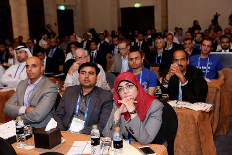 Audience during a session at the Smart Data Summit 2015