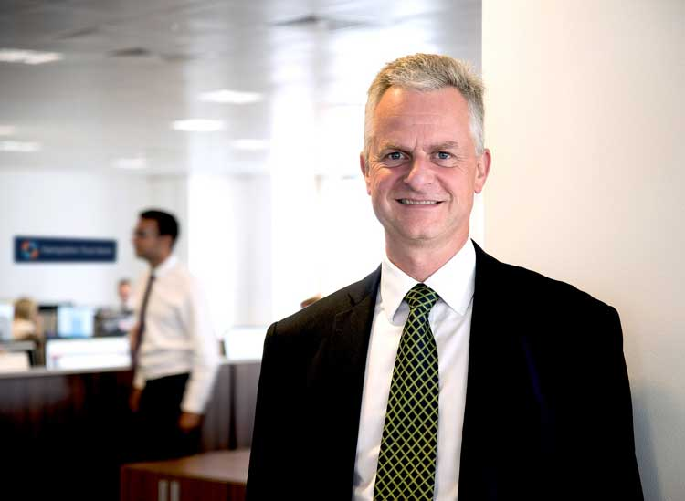 Mark Sismey-Durrant, CEO Hampshire Trust Bank
