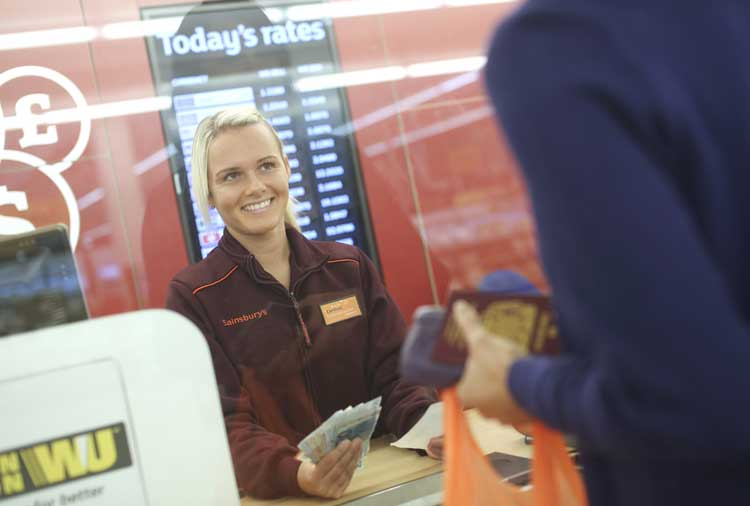 Sainsburys bank announces new relationship with western union