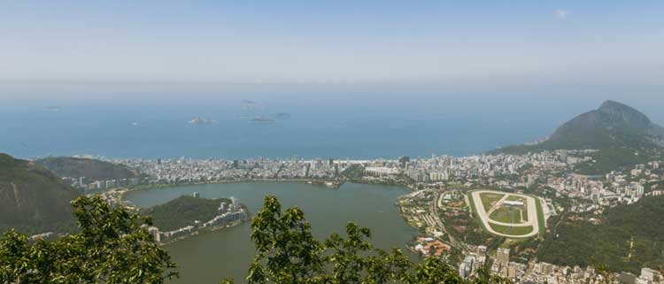 aerial over Rio