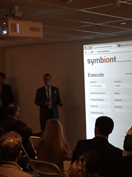 Mark Smith, CEO and founder of Symbiont