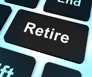 Retire Key Showing Retirement Planning Online