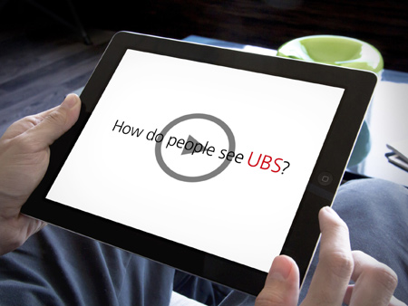 BEHIND THE SCENES OF THE UBS BRAND RELAUNCH: AN INSIDER'S VIEW