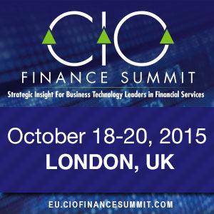 CIO Finance Summit EU
