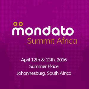 Mondato Summit Africa 2016