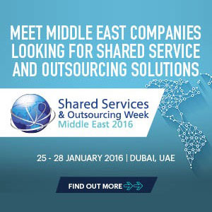 Shared Services and Outsourcing Week Middle East