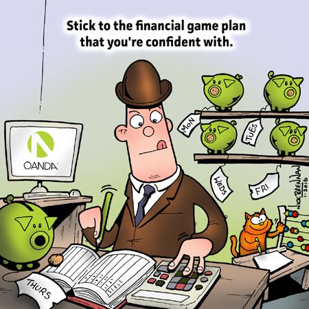 Cartoon THREE - piggy banks