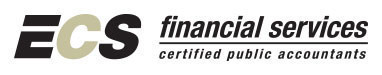 ECS Financial Services logo (PRNewsFoto/ECS Financial Services)