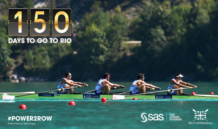 150 DAYS UNTIL RIO 2016 OLYMPIC GAMES