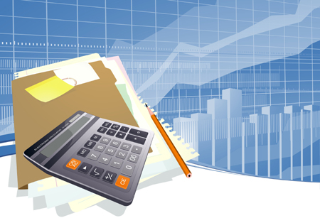 finance-abstract-vector