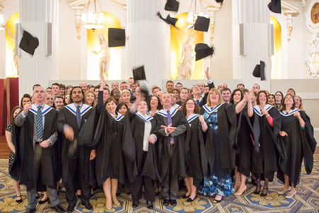 Celebrating dynamic achievements - the Institute of Exports graduates