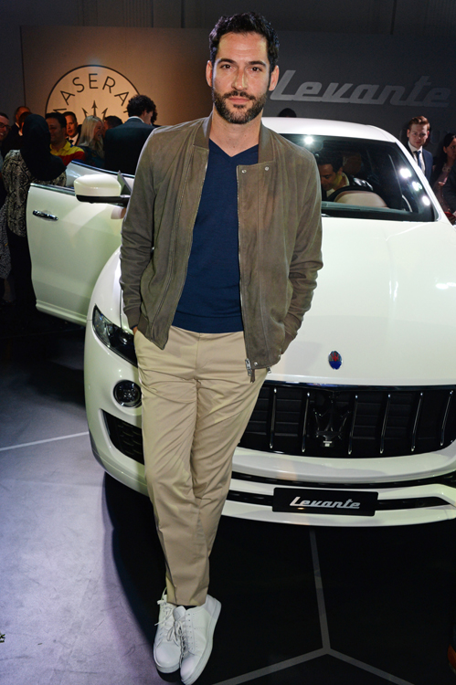 Maserati Levante - Tom Ellis