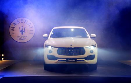 LEVANTE 'THE MASERATI OF SUVS' MAKES ITS UK DEBUT