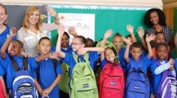 WITH YOUR SUPPORT,THOUSANDS OF LOW-INCOME CHILDREN WILL GET A BACKPACK WITH SCHOOL SUPPLIES IN 2016!