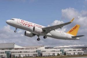 PEGASUS MAKES HISTORY WITH THE DELIVERY OF THE FIRST OF ITS 100 AIRBUS ORDER