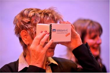 Google cardboard glasses are a new way of presenting real estate properties.