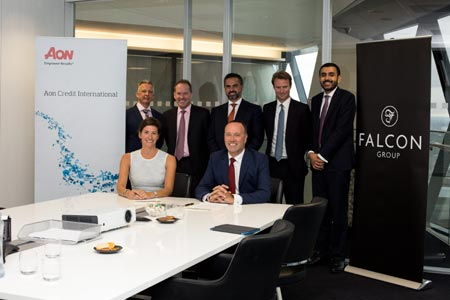 FALCON GROUP COLLABORATES WITH AON TO BOOST UK EXPORTS