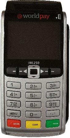 Ingenico Worldpay payment terminal-iWL250