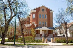 House in Winnipeg. Ronald McDonald House, Winnipeg Manitoba.