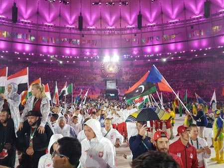 The Closing Ceremony at the Rio 2016 Olympic Games
