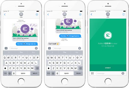 CIRCLE FOR IMESSAGE: MESSAGING MEETS OPEN GLOBAL SOCIAL PAYMENTS