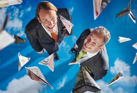 PayNode_L-R_Magnus Henriksson, Global Business Director, PayNode and Niklas Berg, CEO, Avinode Group
