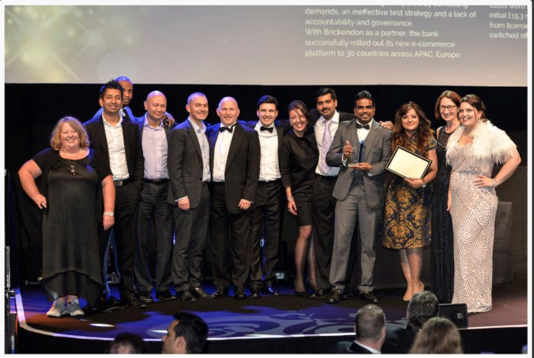 BRICKENDON WINS TOP PRIZE AT THE EUROPEAN SOFTWARE TESTING AWARDS