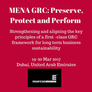 MENA GRC: Preserve, Protect and Perform