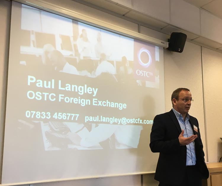 Paul Lagley - OSTCFX - Wales Export Forum - Jan 2017