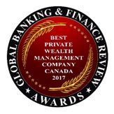"Global Banking & Finance Review Names Desjardins Private Wealth Management ""Best Private Wealth Management Company Canada 2017"""
