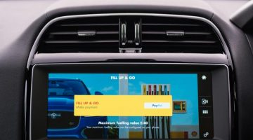 SHELL AND JAGUAR LAUNCH WORLD'S FIRST IN-CAR PAYMENT SYSTEM JUST FILL UP AND GO AS YOUR CAR PAYS FOR YOU