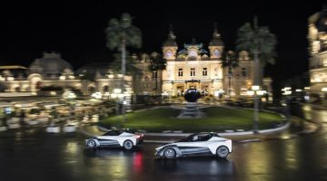 MARGOT ROBBIE SETS PULSES RACING IN MIDNIGHT SPIN AROUND MONTE CARLO WITH NISSAN