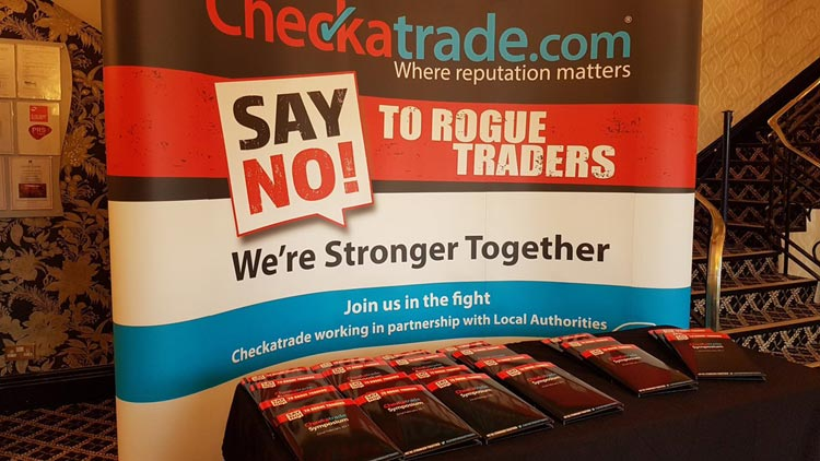 TOGETHER WE ARE STRONGER – CHECKATRADE.COM SYMPOSIUM HIGHLIGHTS CONSUMER PROTECTION BENEFITS OF TRADING STANDARDS PARTNERSHIPS IN FIGHT TO ELIMINATE ROGUE TRADERS