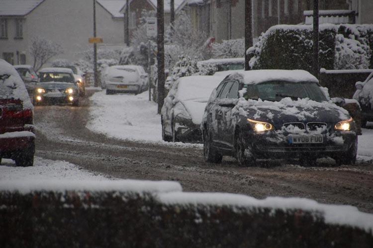WINTER PRANGS COST MOTORISTS £150 MILLION MORE THAN SUMMER