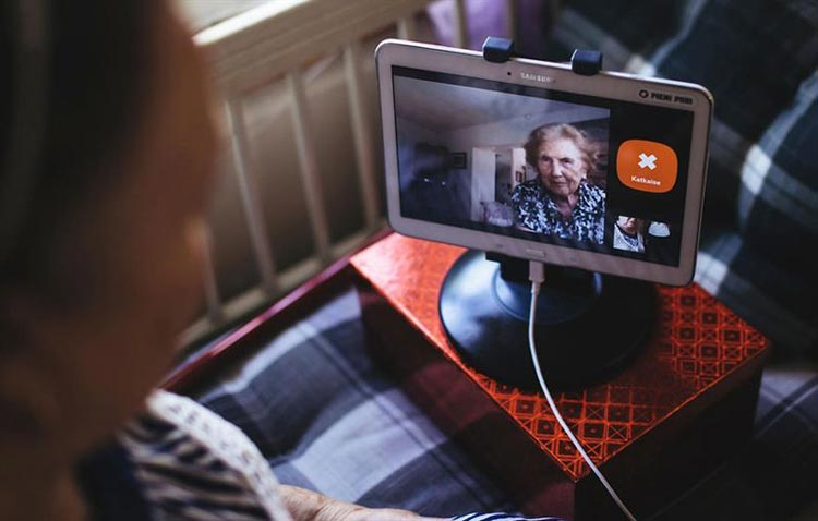 'SKYPE FOR GRANNIES' PIVOTS TO DIGITALISE ELDERLY CARE