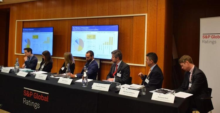"""""""FINANCIAL AND CREDIT RISK ANALYSIS IS FURTHER EXPANDING TO ACCOUNT FOR LONG-TERM RISKS"""" CONCLUDES PANEL HOSTED BY S&P GLOBAL RATINGS AND THE 2° INVESTING INITIATIVE"""