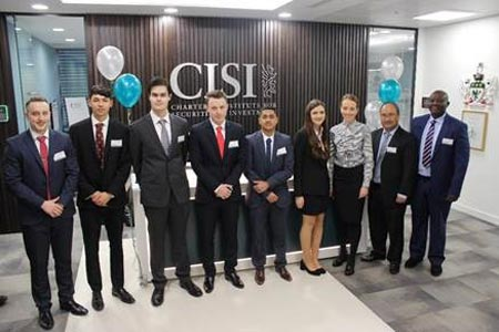 CISI EDUCATIONAL TRUST AWARDS TOTALLING £17,500 ANNOUNCED