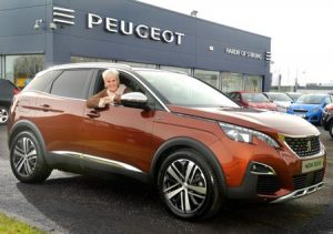 ALL- NEW PEUGEOT 3008 SUV AND JUDY MURRAY ARE THE ULTIMATE DOUBLES PARTNERSHIP