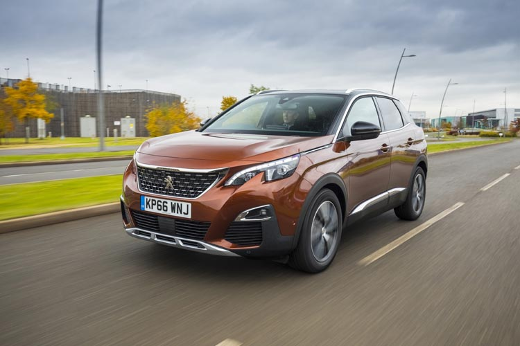 ALL-NEW PEUGEOT 3008 SUV NAMED CAR OF THE YEAR 2017